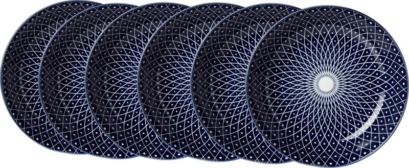 Ritzenhoff&Breker Royal Reiko 20,5 cm hluboký talíř 6 ks