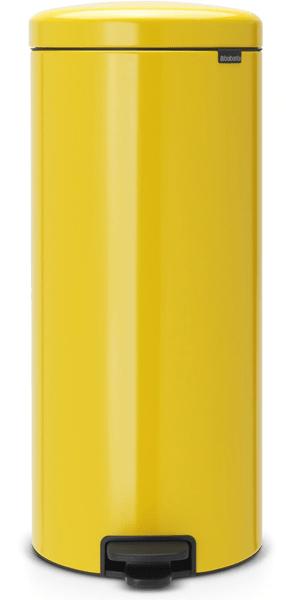 Brabantia Pedálový koš newIcon 30 l, žlutá