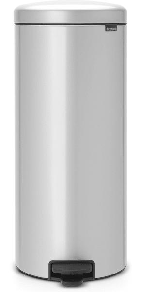 Brabantia Pedálový koš newIcon 30 l, metalická šedá