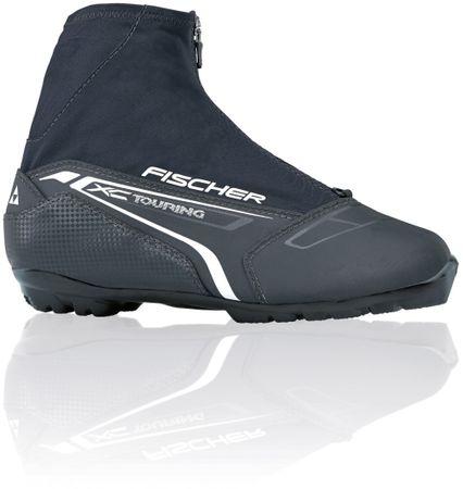 FISCHER čevlji za tek na smučeh XC Touring T3, črni, 46