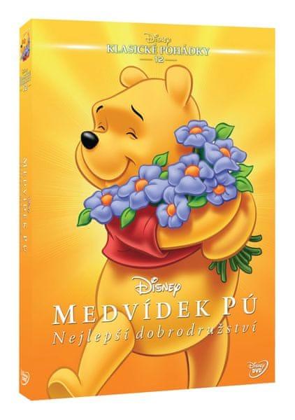 Medvídek Pú: Nejlepší dobrodružství (Edice Disney klasické pohádky) - DVD