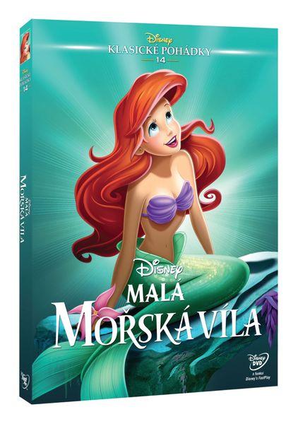 Malá mořská víla (Edice Disney klasické pohádky) - DVD