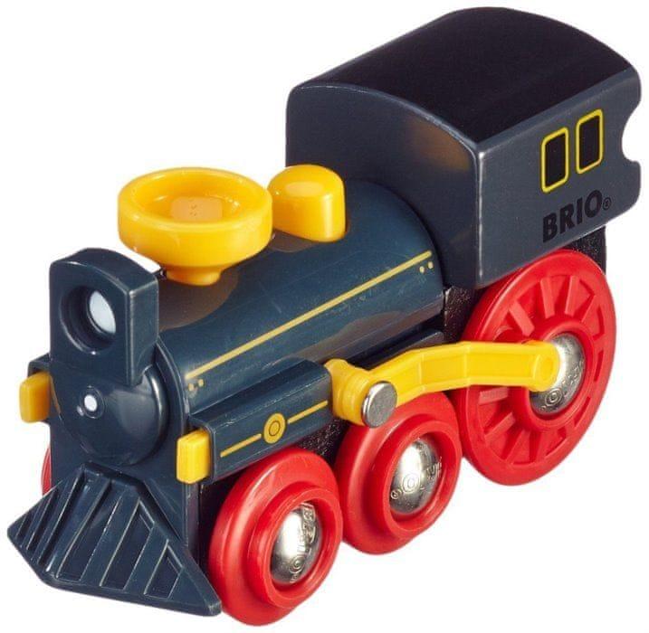 Brio WORLD 33617 Stará parní lokomotiva