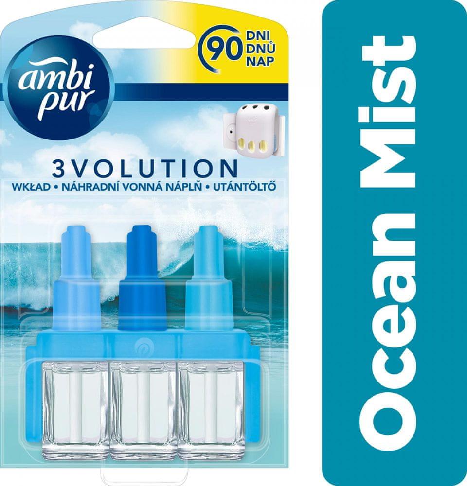Ambi Pur 3Volution Ocean Mist Náplň do osvěžovače 20 ml