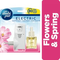 Ambi Pur Plug-In Flowers&Spring illatosító kezdőkészlet 20 ml
