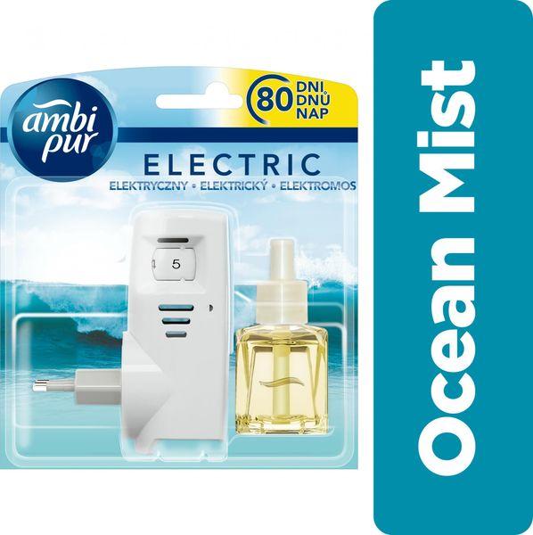 Ambi Pur Electric strojek + náplň Ocean Mist 20 ml