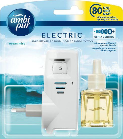 Ambi Pur Electric strojček + náplň Ocean Mist 20 ml