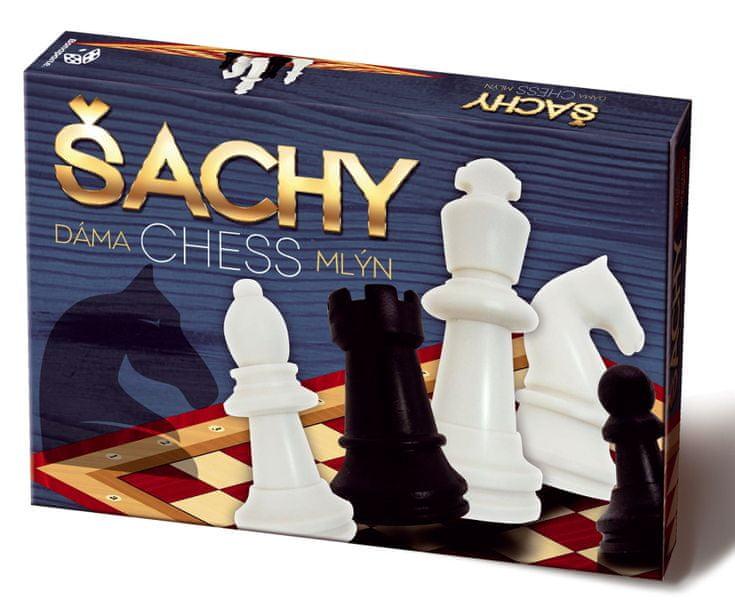 Bonaparte Šachy Dáma Mlýn - limitovaná edice