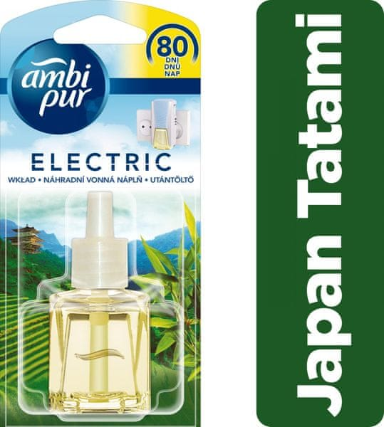Ambi Pur Electric náplň Japan Tatami 20 ml