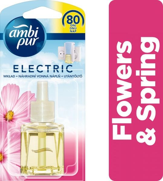 Ambi Pur Electric náplň Flowers & Spring 20 ml