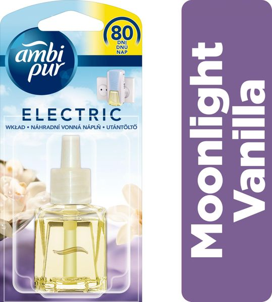 Ambi Pur Electric náplň Moonlight Vanilla 20 ml