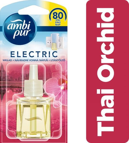 Ambi Pur Electric náplň Thai Orchid 20 ml