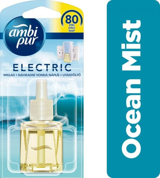 Ambi Pur Electric náplň Ocean Mist 20 ml