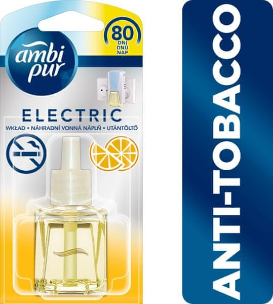 Ambi Pur Electric náplň Anti-tobacco Citrus 20 ml