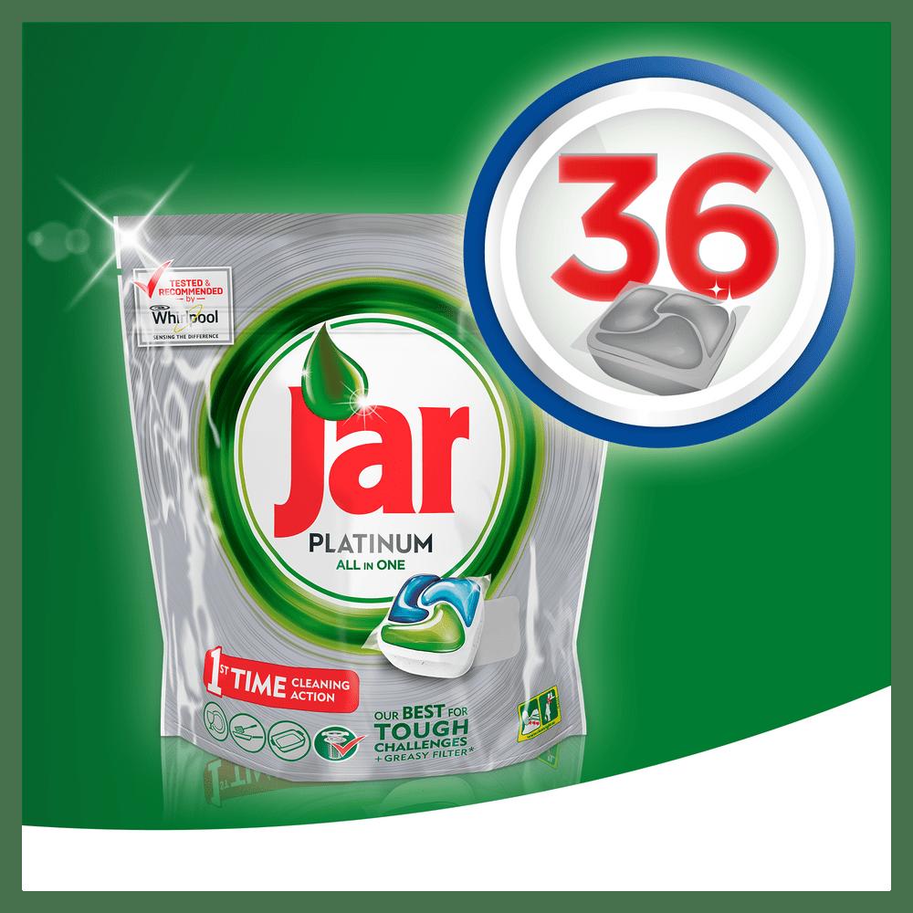Jar kapsle Platinum Green 36 ks