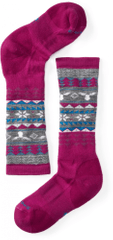SmartWool Girls Wintersport Fairisle Moose