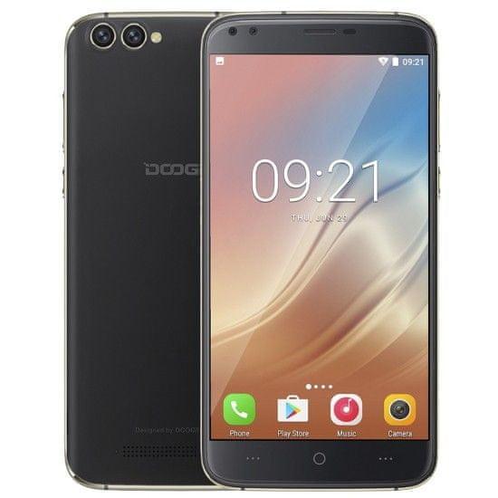 Doogee X30 2GB/16GB, Dual SIM, černý