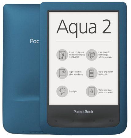 PocketBook e-bralnik Aqua 2 - odprta embalaža