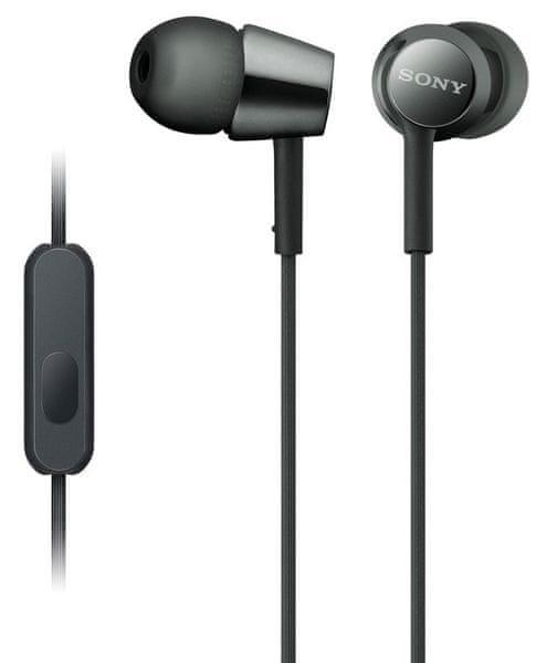 Sony MDR-EX155AP, černá