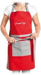 Tescoma Kuchyňská zástěra GrandCHEF, červená
