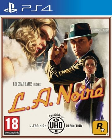 Take 2 L.A. Noire (PS4) Játékprogram