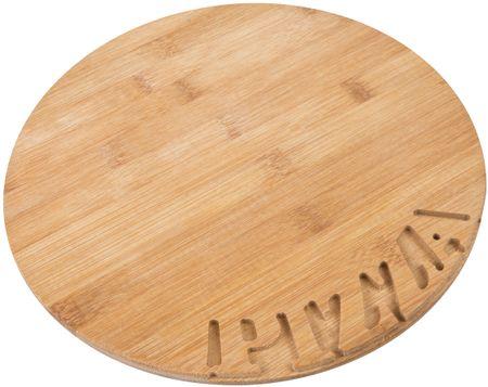 TimeLife Pizza prkýnko BAMBUS, 28 cm