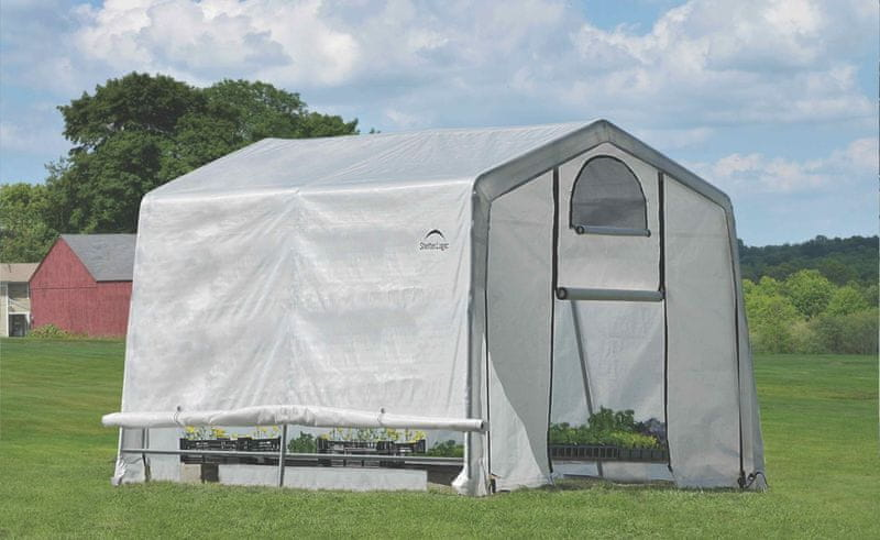 ShelterLogic plachtový skleník SHELTERLOGIC 3,0 x 3,0 m - 35 mm - 70656EU