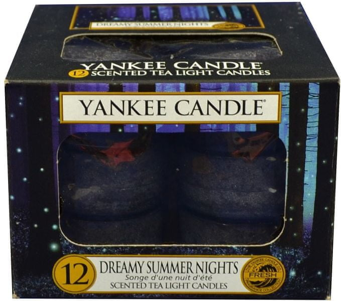 Yankee Candle Čajové svíčky Dreamy Summer Nights 12x 9,8 g
