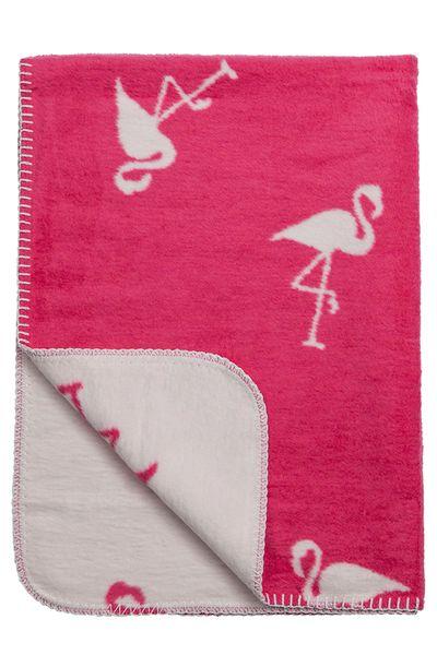 Meyco Deka 75x100 cm Premium Dessin Flamingo raspberry