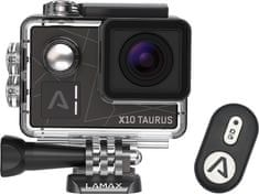 LAMAX X10 Taurus + čelenka + plavací grip + náhradná batéria