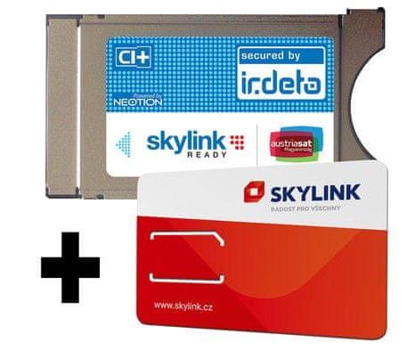 Irdeto Neotion modul Skylink ready s kartou