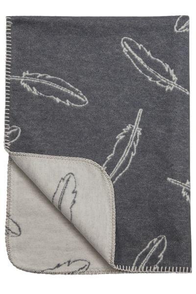 Meyco Deka 75x100 cm Premium Flanel Feathers grey