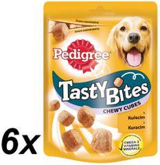 Pedigree Csemege Tasty Bites Chewy Cubes 6 x 130g