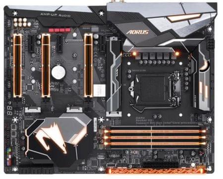 Gigabyte matična plošča GA-Z370 AORUS Gaming 7, DDR4, SATA3, USB3.1Gen2, DP, M.2, Thunderbolt3, LGA1151 ATX