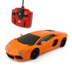 Pama avto Lamborghini Aventador LP 700-4, daljinsko voden, 1:24, oranžen