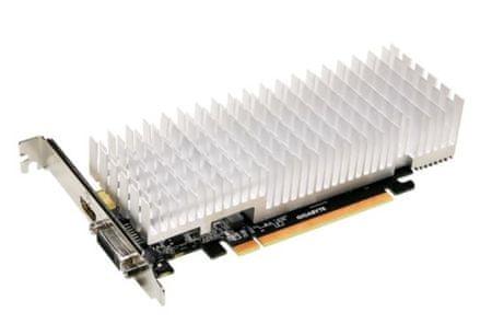 Gigabyte grafična kartica GeForce GT 1030, 2GB GDDR5, Silent Low Profile, PCI-E 2.0