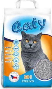 Akinu Caty kremelinové stelivo pre mačky 20l