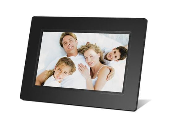 BRAUN digitalni foto zaslon 711 LED, črn