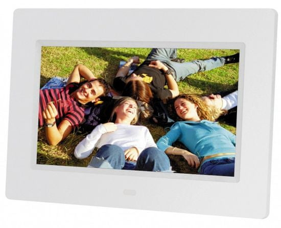 BRAUN digitalni foto zaslon 711 LED, bel