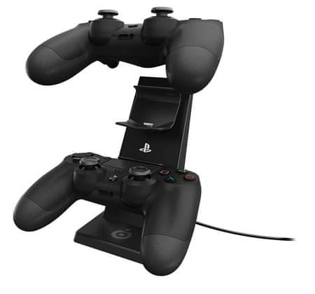 Bigben polnilna postaja za PS4 igralni plošček