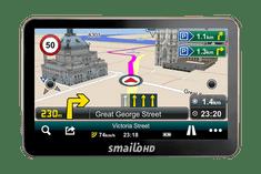 """Smailo HD50 5.0"""" navigáció Teljes Európa térképpel outlet"""