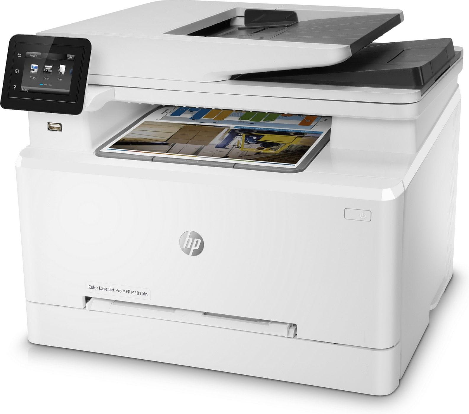 Multifunkční tiskárna HP Color LaserJet Pro M281fdn