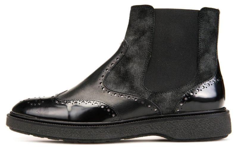 Geox dámská kotníčková obuv Prestyn 41 černá