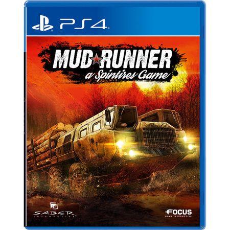 Focus Spintires: Mudrunner (PS4)