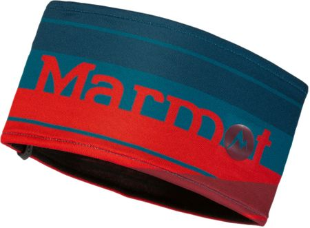 Marmot Sepp Headband Dark Sailor/Team Red