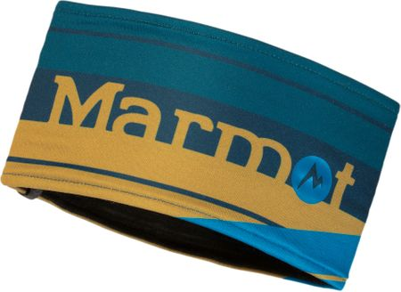 Marmot Sepp Headband Arctic Navy/Golden Palm