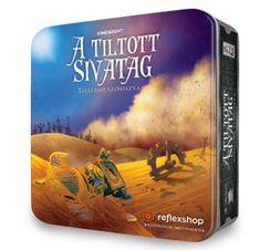 GAMEWRIGHT Tiltott sivatag társasjáték