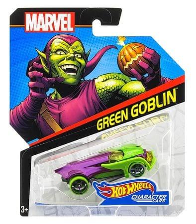 Hot Wheels Marvel Kultovní angličák - Green Goblin