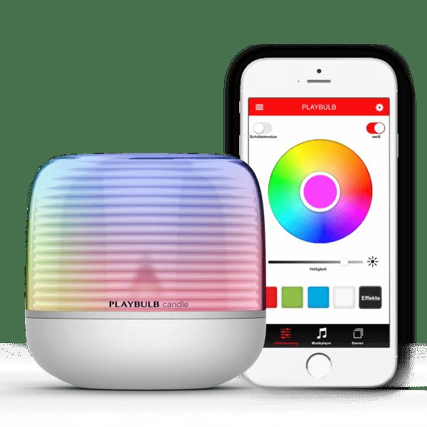 MiPOW Playbulb™ Candle 2, chytrá LED Bluetooth svíčka