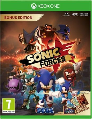 Sega Sonic Forces Bonus Edition (Xbox One)